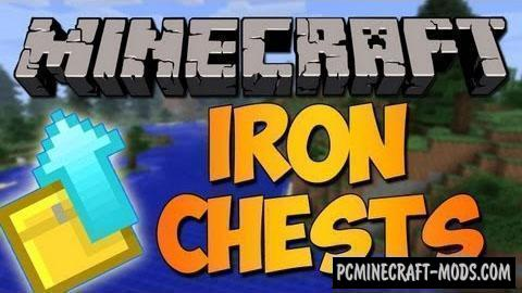 Iron Chests - New Blocks Mod For Minecraft 1.14.4, 1.13.2