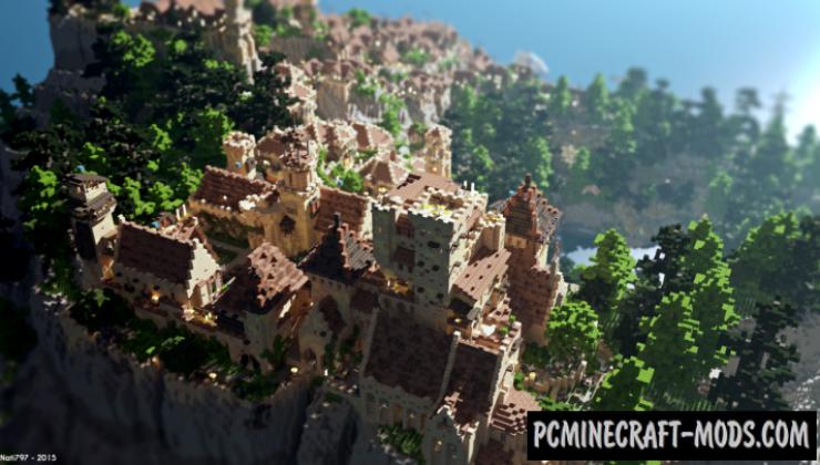 Ambariña - Custom Terrain, City, Castle Map