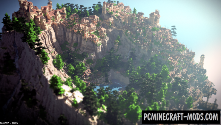 Ambariña Map For Minecraft