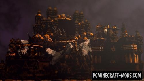 Pumpkin Factory Map For Minecraft