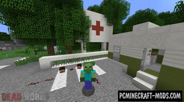 Dead World - Survival, Horror Map For Minecraft