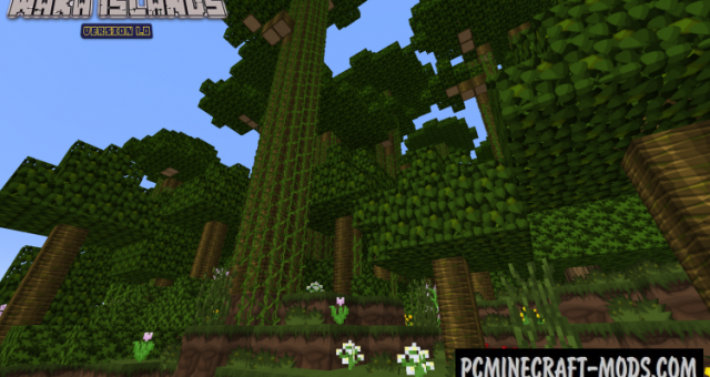 Waka Islands - Survival Map For Minecraft
