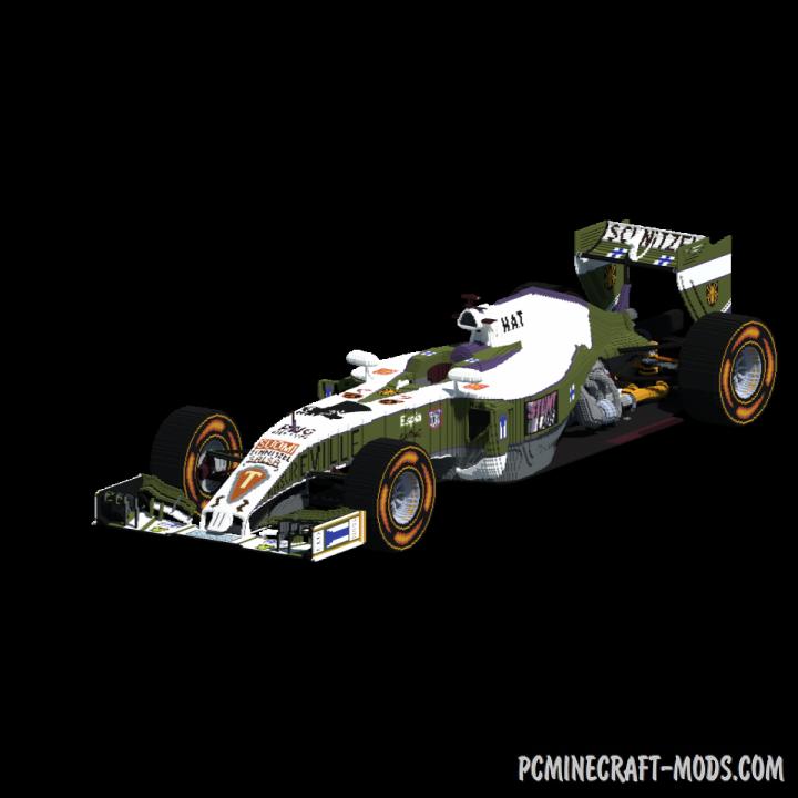 Team Kaapo F1 car Map For Minecraft