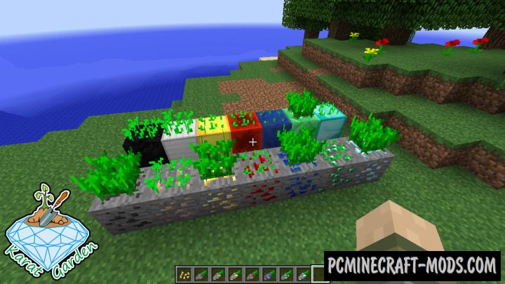 Karat Garden - Farm Mod For Minecraft 1.12.2, 1.8.9, 1.7.10