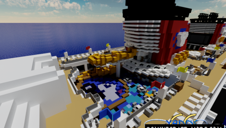 Disney Wonder Map For Minecraft