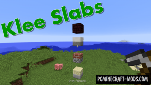 KleeSlabs - Tweak Mod For Minecraft 1.16.2, 1.15.2, 1.14.4