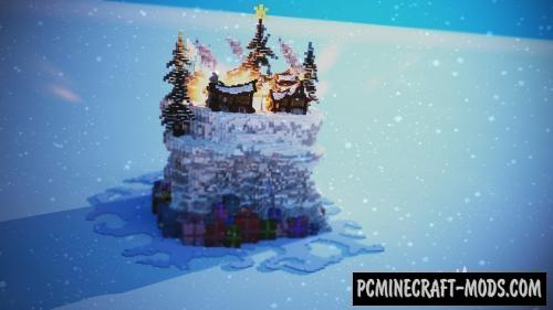 Christmas Village Map For Minecraft