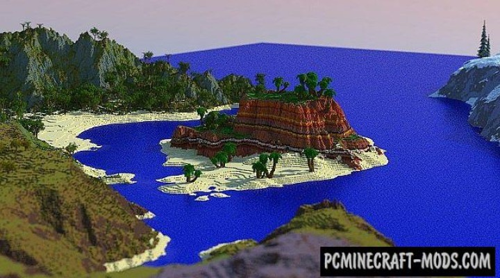 Lands of Luvem - Surv, Terrain Map For Minecraft
