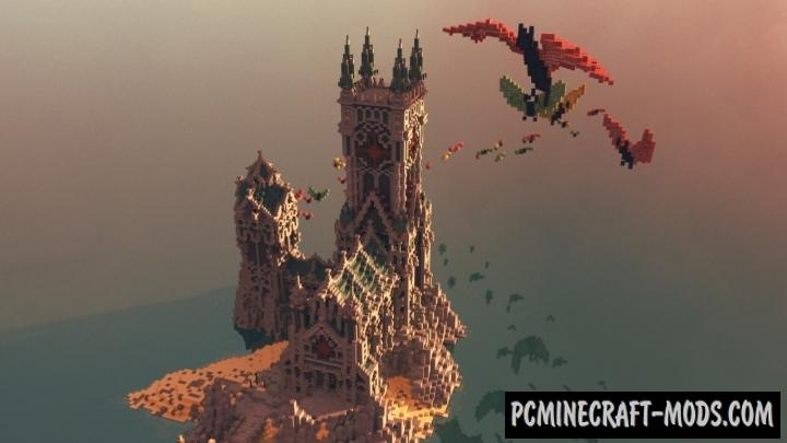 Rise of the Vampires Map For Minecraft
