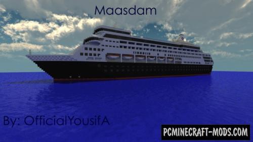 Maasdam - 3D Art Map For Minecraft