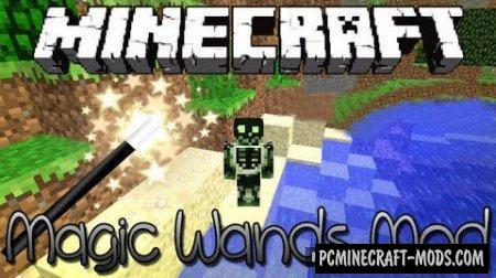 Magic Wands Mod For Minecraft 1.8, 1.7.10, 1.6.4
