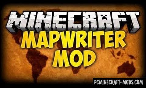 MapWriter - Minimap Mod For Minecraft 1.7.10, 1.6.4