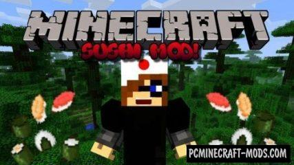 Sushi Mod For Minecraft 1.12.2, 1.11.2, 1.10.2
