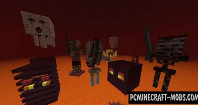 Meet the Mobs - 3D Arts Map For Minecraft