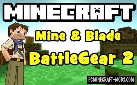 Mine & Blade: Battlegear 2 Mod For Minecraft 1.8.9, 1.7.10