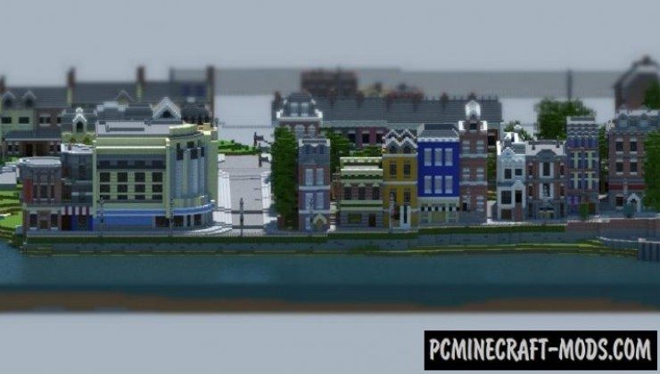 Carville: Industrial city Map For Minecraft