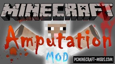 Mob Amputation Mod For Minecraft 1.12.2, 1.10.2, 1.8, 1.7.10