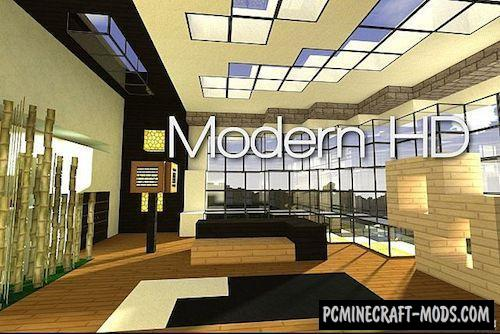 Modern HD 64x Texture Pack For Minecraft 1.16.5, 1.16.4, 1.15