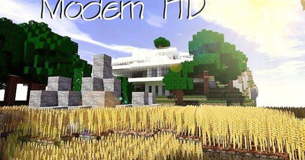 Modern HD Resource Pack For Minecraft 1.10.2, 1.9.4, 1.8.9, 1.7.10 | PC Java Mods