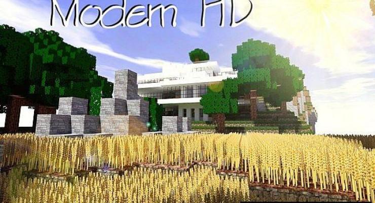 Modern HD Resource Pack For Minecraft 1.10.2, 1.9.4, 1.8.9, 1.7.10
