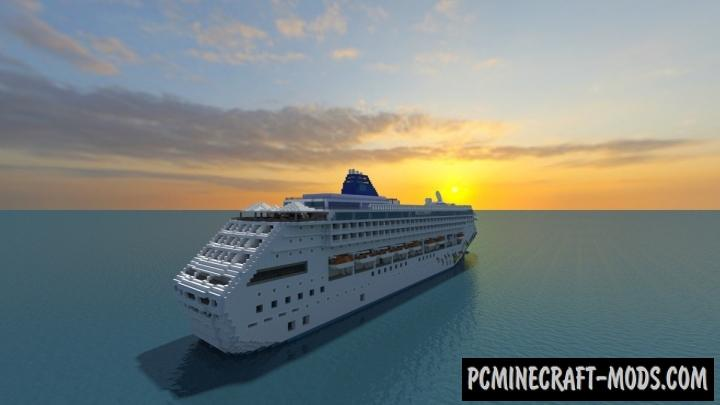 Norwegian Sky Map For Minecraft