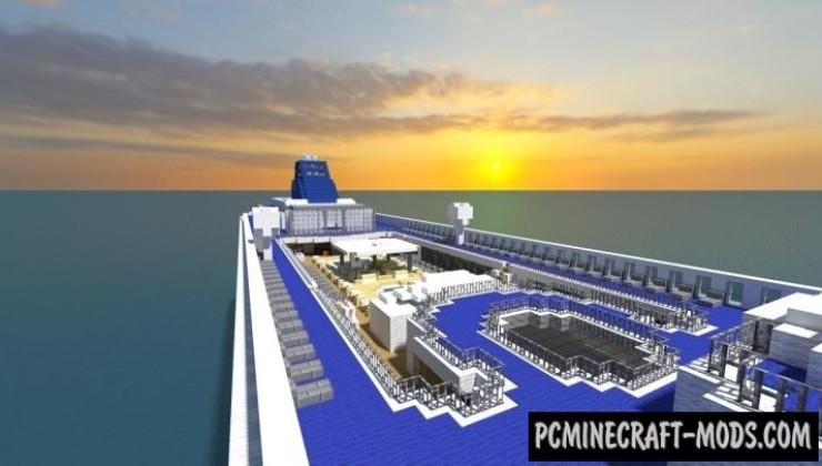 Norwegian Sky - 3D Art Map For Minecraft