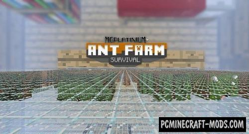 Ant Farm Survival Map For Minecraft PC Java Mods - Mapas survival para minecraft 1 11 2