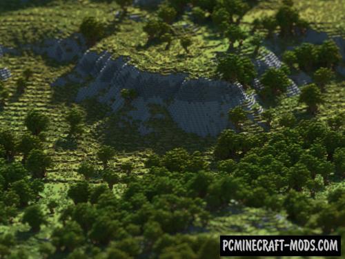 Fahari Highlands Map For Minecraft