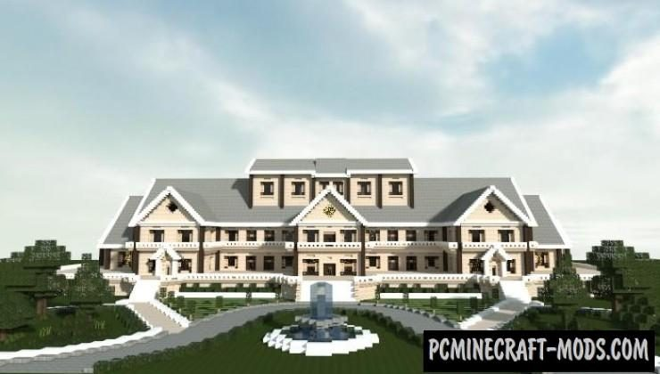 Luxury Mansion Map For Minecraft
