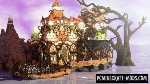 Halloween Special - Castle, House Map For MC