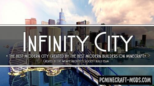 Infinity City Map For Minecraft