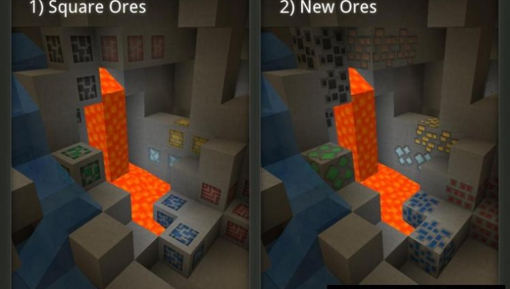 Paper Cut-Out 16x Resource Pack For Minecraft 1.17.1, 1.16.5