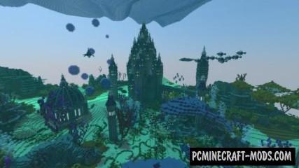 Massive MarineHaven Map For Minecraft