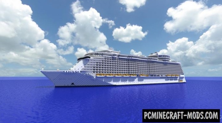 Oasis of The Seas - 3D Art Map For Minecraft