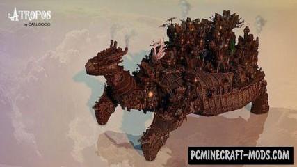 Atropos - City Map For Minecraft