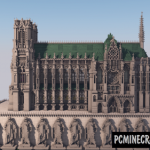 Cologne Cathedral Map For Minecraft