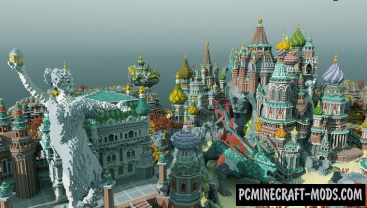 Faberzhe Palace - Castle Map For Minecraft
