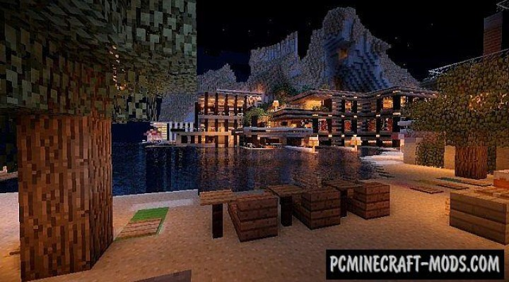 Luxurious Cove House Map For Minecraft