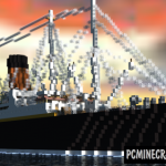 RMS Lusitania Map For Minecraft
