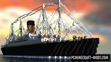 RMS Carpathia Map For Minecraft