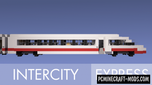 Intercity Express 3 Map For Minecraft