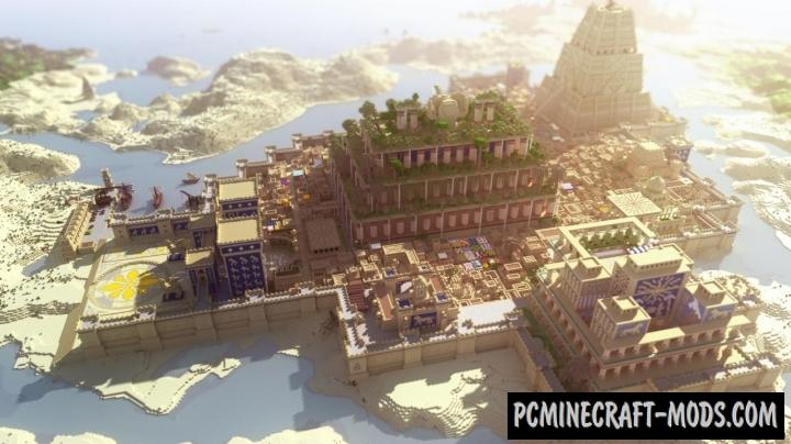 Babylon Map For Minecraft