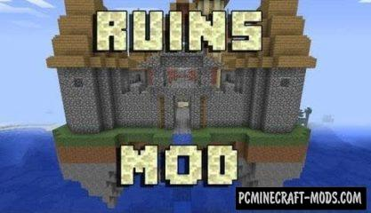 Ruins Mod For Minecraft 1.12.2, 1.11.2, 1.10.2, 1.7.10
