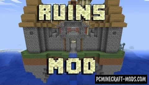 Ruins - Random Rewards Mod For Minecraft 1.15.2, 1.14.4