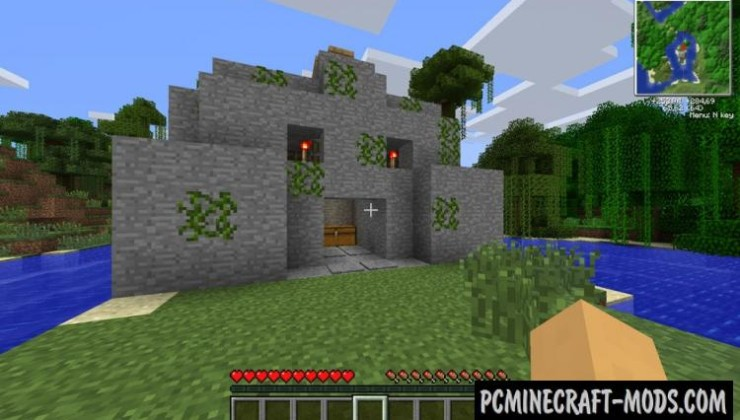 Ruins Mod For Minecraft 1.11, 1.10.2, 1.9.4, 1.7.10