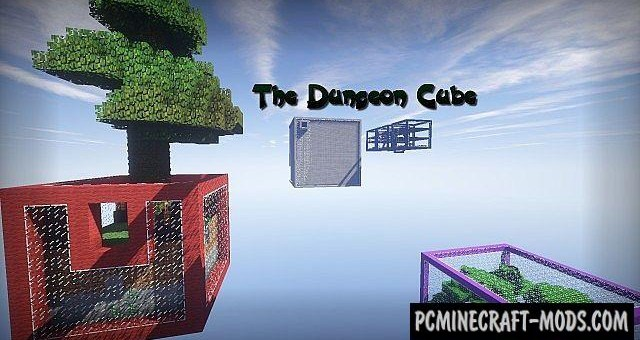 Sky Cubes Survival Map For Minecraft