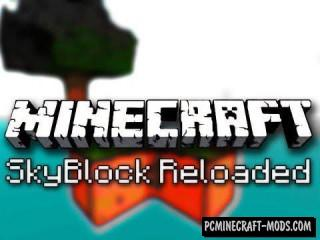 Skyblock Reloaded Map For Minecraft