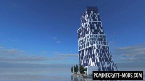Skyscraper 12 - Building Map For Minecraft