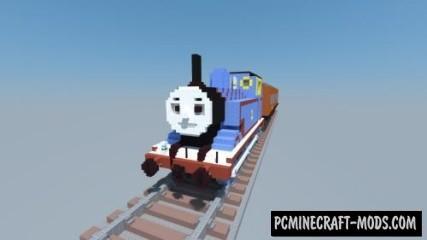 Thomas the Tank Engine - 3D Art Map For MC