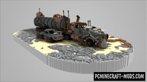 The War Rig - 3D Art Map For Minecraft